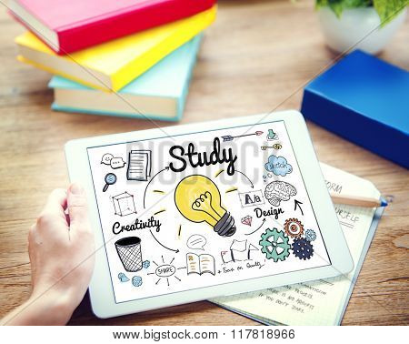 Study Knowledge Education Smart Learning Concept