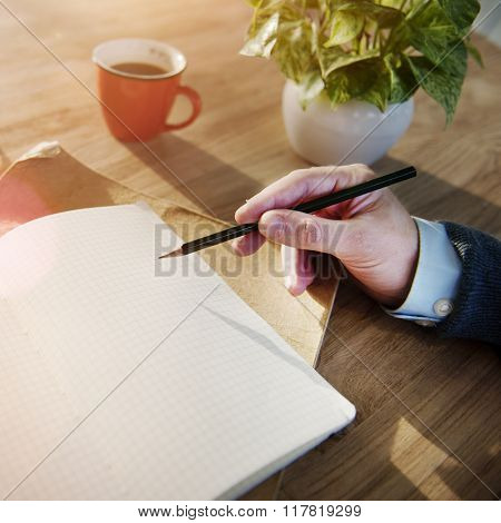 Writing Communication Message Correspondence Concept