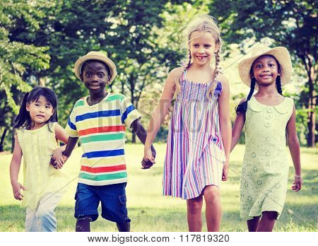 Child Childhood Children Kids Happiness Concept