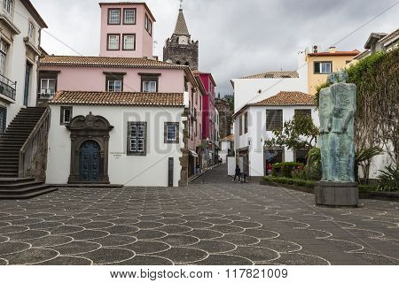 Funchal, Portugal - June 25: Funchal City At Summer Time On  June 25, 2015 In Madeira Island, Portug