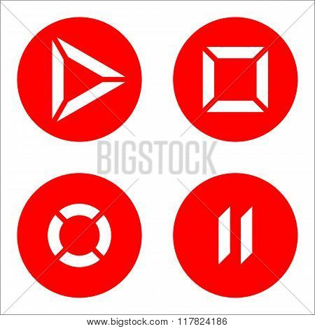 Player icons red