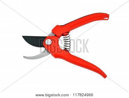 Red Garden Pruner