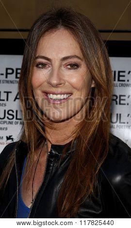 Kathryn Bigelow at the Los Angeles Premiere of