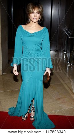 Jennifer Lopez at the 2009 Noche De Ninos Gala held at the Beverly Hilton Hotel in Beverly Hills, USA on May 9, 2009.