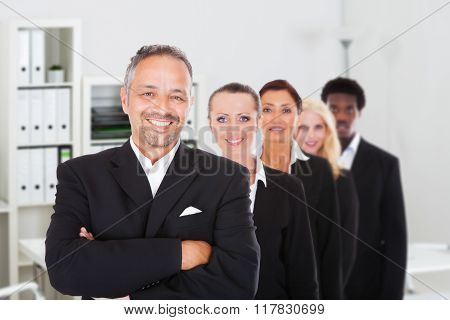 Multi-racial Group Of Business People