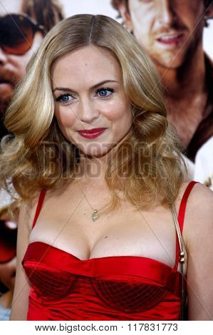 Heather Graham at the Los Angeles Premiere of