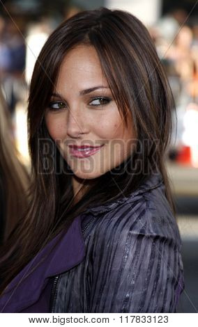 Briana Evigan at the Los Angeles Premiere of