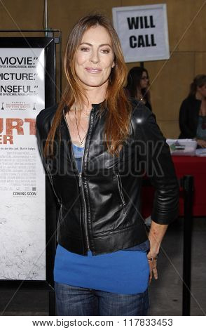 Kathryn Bigelow at the Los Angeles Premiere of