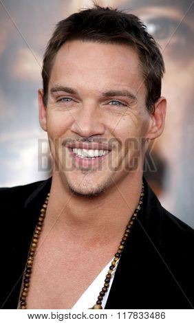 Jonathan Rhys Meyers at the Los Angeles premiere of the