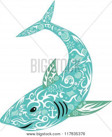 shark turquoise