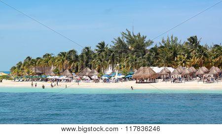 Beautiful Beach in Isla Mujeres