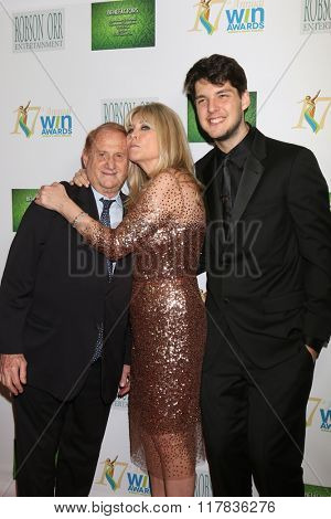 LOS ANGELES - FEB 10:  Mike Medavoy, Irena Medavoy, Nick Medavoy at the 17th Annual Women's Image Awards at the Royce Hall on February 10, 2016 in Westwood, CA