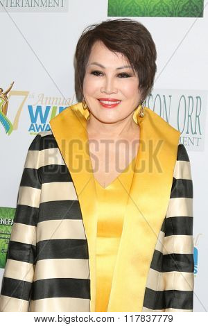 LOS ANGELES - FEB 10:  Yue-Sai Kan at the 17th Annual Women's Image Awards at the Royce Hall on February 10, 2016 in Westwood, CA