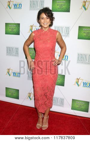 LOS ANGELES - FEB 10:  Emmanuelle Chriqui at the 17th Annual Women's Image Awards at the Royce Hall on February 10, 2016 in Westwood, CA