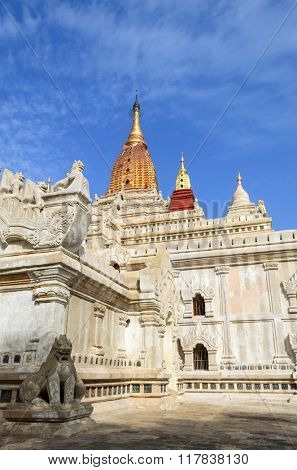 Ananda Temple  in Bagan, Myanmar (Burma).
