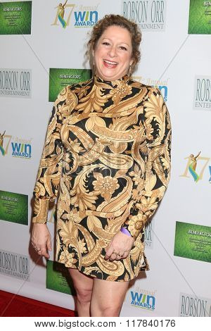 LOS ANGELES - FEB 10:  Abigail Disney at the 17th Annual Women's Image Awards at the Royce Hall on February 10, 2016 in Westwood, CA