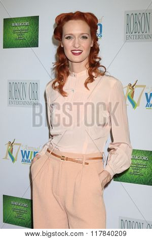 LOS ANGELES - FEB 10:  Breeda Wool at the 17th Annual Women's Image Awards at the Royce Hall on February 10, 2016 in Westwood, CA
