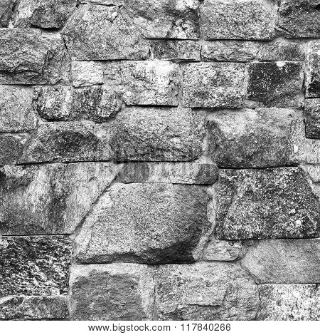 Photo of serface Stone wall texture background