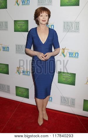 LOS ANGELES - FEB 10:  Frances Fisher at the 17th Annual Women's Image Awards at the Royce Hall on February 10, 2016 in Westwood, CA