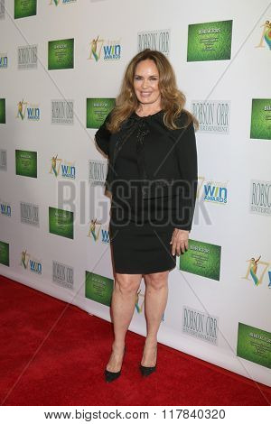LOS ANGELES - FEB 10:  Catherine Bach at the 17th Annual Women's Image Awards at the Royce Hall on February 10, 2016 in Westwood, CA