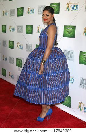 LOS ANGELES - FEB 10:  Nzingha Stewart at the 17th Annual Women's Image Awards at the Royce Hall on February 10, 2016 in Westwood, CA