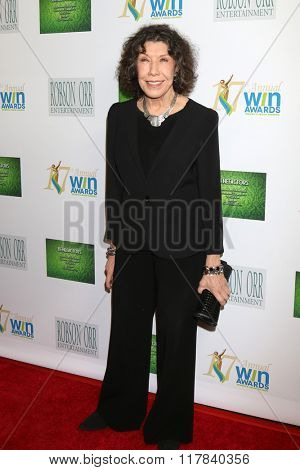 LOS ANGELES - FEB 10:  Lily Tomlin at the 17th Annual Women's Image Awards at the Royce Hall on February 10, 2016 in Westwood, CA