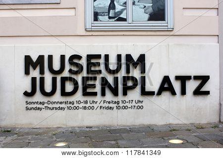 Museum Judenplatz In Vienna