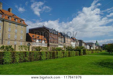 Kings Garden - Park In The Center Of Copenhagen, Near The Rosenborg Castle, Denmark.