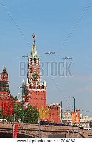 parade in honor of Great Patriotic War victory