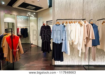 HONG KONG - JANUARY 27, 2016: interior of  anagram the store at Elements Shopping Mall. Elements is a large shopping mall located on 1 Austin Road West, Tsim Sha Tsui, Kowloon, Hong Kong
