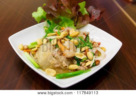 Vermicelli Salad For Diet