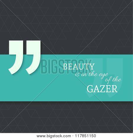 Inspirational quote v