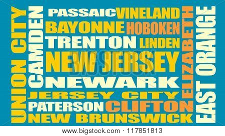 New Jersey State Cities List