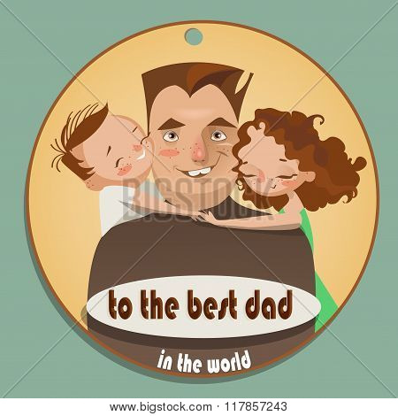 greeting card happy father's day