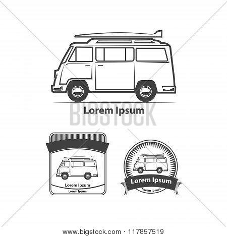 Minivan Rest Surf