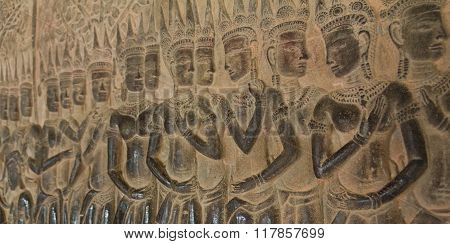 Many Apsaras