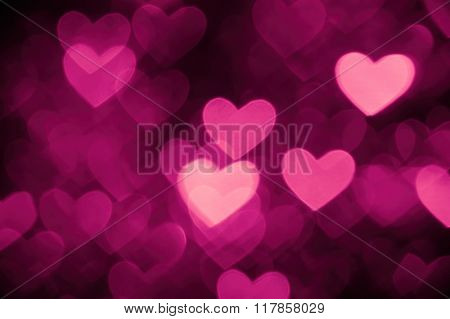 heart background photo pink color