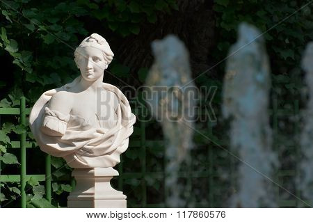 Saint-Petersburg. Russia. Bust of Corinna