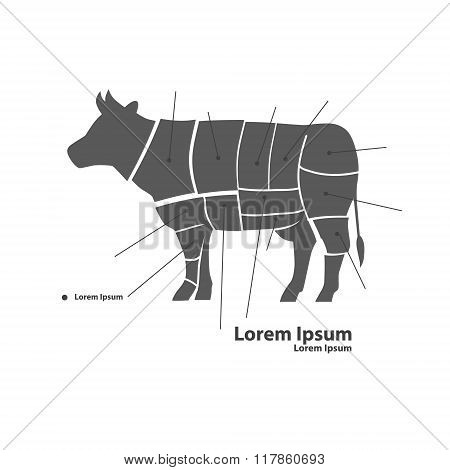 Beef Silhouette Parts