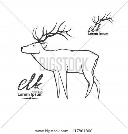 Elk Forest Logo