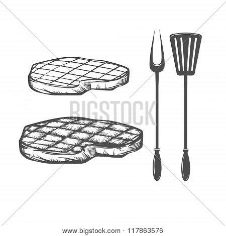Steak Cook Bbq