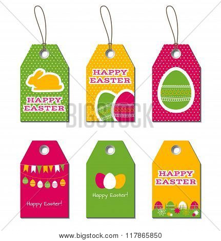 Easter vector tags