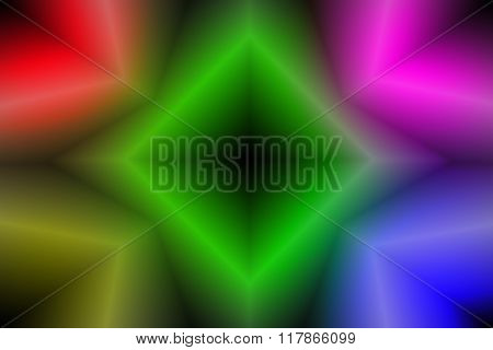 The Color Abstract Background