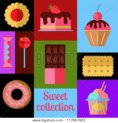 Sweet vector set