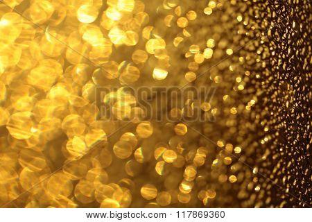 Bright Amazing Yellow Golden Wallpaper