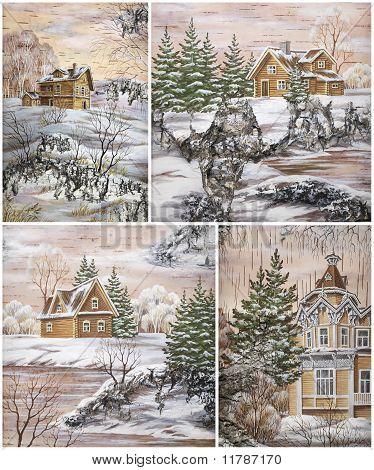 Siberian buildings
