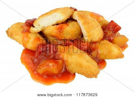 Chinese Battered Sweet And Sour Chicken