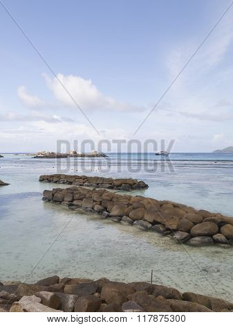 Bright Seascape Seychelles