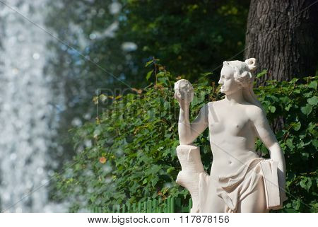 Saint-Petersburg. Russia. Allegory of Truth
