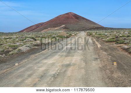 Volcano At Isla Graciosa Canarias